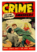 Golden Age (1938-1955):Crime, Crime Smashers #1 (Ribage Publishing, 1950) Condition: FN-....