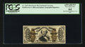 Fractional Currency:Third Issue, Fr. 1329 50¢ Third Issue Spinner. PCGS Apparent Very Choice New 64.. ...