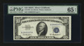 Small Size:Silver Certificates, Fr. 1707 $10 1953A Silver Certificate. PMG Gem Uncirculated 65 EPQ.. ...