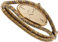 Estate Jewelry:Watches, Baume & Mercier Lady's Gold Wristwatch. ...