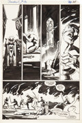 Original Comic Art:Panel Pages, Frank Miller and Klaus Janson Daredevil #190 Page 35Original Art (Marvel, 1983)....