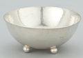 Silver Holloware, American:Bowls, AN AMERICAN SILVER FOOTED BOWL WITH HAND HAMMERED SURFACE . WhitingManufacturing Company, New York, New York, circa 1917. M...