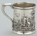 Silver Holloware, American:Cups, AN AMERICAN SILVER MUG . Peter L. Krider Co., Philadelphia,Pennsylvania, circa 1880. Marks: (lion-K-crown), STERLING,112...