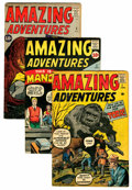 Silver Age (1956-1969):Science Fiction, Amazing Adventures #1-6 Group (Marvel, 1961).... (Total: 6 ComicBooks)
