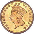 Gold Dollars, 1881 G$1 MS67+ PCGS. CAC....