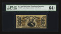 Fractional Currency:Third Issue, Fr. 1327 50¢ Third Issue Spinner. PMG Choice Uncirculated 64 EPQ.. ...