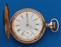 Timepieces:Pocket (post 1900), Illinois 17, Jewel Plymouth Watch Co. 18 Size Fancy Dial. ...