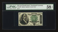 Fr. 1379 50¢ Fourth Issue Dexter PMG Choice About Unc 58 EPQ