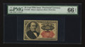 Fractional Currency:Fifth Issue, Fr. 1309 25¢ Fifth Issue. PMG Gem Uncirculated 66 EPQ.. ...