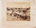 Military & Patriotic:Civil War, QUARTERS OF MEN IN FORT SEDGWICK/GENERALLY KNOWN AS FORT HELL (No. 83)....
