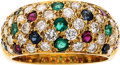 Estate Jewelry:Rings, Ruby, Sapphire, Emerald, Diamond, Gold Ring. ...