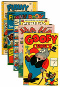 Golden Age (1938-1955):Funny Animal, Miscellaneous Golden Age Funny Animal Comics Group (VariousPublishers, 1942-50).... (Total: 5 Comic Books)