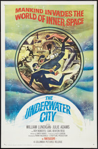 "The Underwater City (Columbia, 1961). One Sheet (27"" X 41""). Science Fiction"