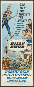"Movie Posters:Adventure, Billy Budd (Allied Artists, 1962). Insert (14"" X 36""). Adventure.. ..."