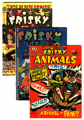 Golden Age (1938-1955):Funny Animal, Frisky Fables/Animals Group (Star Publications, 1946-52)....(Total: 3 Comic Books)