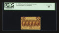 Fractional Currency:First Issue, Fr. 1280 25¢ First Issue. PCGS Extremely Fine 45.. ...
