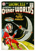 Silver Age (1956-1969):Science Fiction, Showcase #17 Adventures on Other Worlds (DC, 1958) Condition:Apparent VG....
