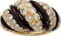 Estate Jewelry:Rings, Diamond, Enamel, Gold Ring, Christian Dior. ...