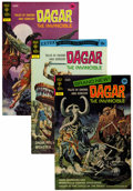 Bronze Age (1970-1979):Miscellaneous, Dagar the Invincible File Copy Group (Gold Key, 1972-82) Condition:Average VF+.... (Total: 17 Comic Books)