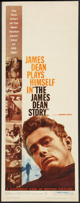 "The James Dean Story (Warner Brothers, 1957). Insert (14"" X 36""). Documentary"