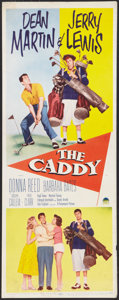 "Movie Posters:Sports, The Caddy (Paramount, 1953). Insert (14"" X 36""). Sports.. ..."