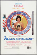 """Movie Posters:Comedy, Alice's Restaurant (United Artists, 1969). One Sheet (27"""" X 41""""). Comedy.. ..."""