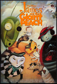 "James and the Giant Peach (Buena Vista, 1996). One Sheet (27"" X 40"") DS Style B. Fantasy"
