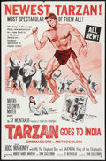 "Movie Posters:Adventure, Tarzan Goes to India Lot (MGM, 1962). One Sheets (2) (27"" X 41"").Adventure.. ... (Total: 2 Items)"