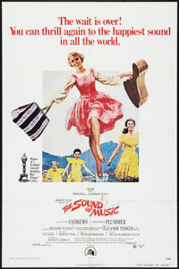 "The Sound of Music Lot (20th Century Fox, R-1973). One Sheets (2) (27"" X 41""). Musical. ... (Total: 2 Items)"