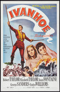 "Movie Posters:Adventure, Ivanhoe Lot (MGM, R-1962). One Sheets (2) (27"" X 41""). Adventure..... (Total: 2 Items)"