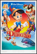 """Movie Posters:Animated, Pinocchio Lot (Buena Vista, R-1992). One Sheets (2) (27"""" X 40"""") DS. Animated.. ... (Total: 2 Items)"""