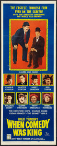 """Movie Posters:Comedy, When Comedy Was King (20th Century Fox, 1960). Insert (14"""" X 36""""). Comedy.. ..."""