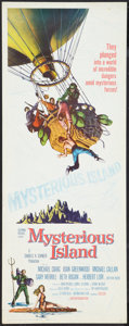 "Movie Posters:Science Fiction, Mysterious Island (Columbia, 1961). Insert (14"" X 36""). Science Fiction.. ..."