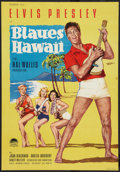 "Movie Posters:Elvis Presley, Blue Hawaii (Paramount, 1961). German A1 (23"" X 33.5""). ElvisPresley.. ..."