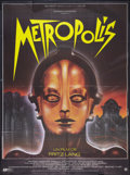 """Movie Posters:Science Fiction, Metropolis (Gaumont, R-1984). French Grande (45.5"""" X 61""""). Science Fiction.. ..."""