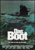 "Movie Posters:War, Das Boot (Columbia, 1981). German A1 (23"" X 33""). War.. ..."