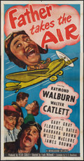 """Movie Posters:Comedy, Father Takes the Air (Monogram, 1951). Three Sheet (41"""" X 81""""). Comedy.. ..."""