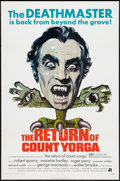 """Movie Posters:Horror, The Return of Count Yorga (American International, 1971). One Sheet (27"""" X 41""""). Horror.. ..."""