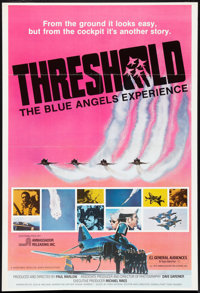 """Threshold: The Blue Angels Experience (Ambassador Pictures, 1975). One Sheet (27"""" X 41""""). Documentary"""