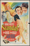 "Movie Posters:Comedy, George White's Scandals (RKO, 1945). One Sheet (27"" X 41""). Comedy.. ..."