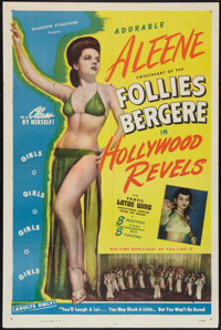 "Hollywood Revels (Roadshow Attractions, 1946). One Sheet (27"" X 41""). Sexploitation"