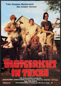 "Movie Posters:Horror, The Texas Chainsaw Massacre (Bryanston, 1974). German A1 (23"" X 33""). Horror.. ..."