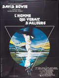 """Movie Posters:Science Fiction, The Man Who Fell to Earth (P.M. Productions, 1976). French Grande (47"""" X 63""""). Science Fiction.. ..."""