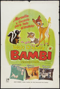 """Movie Posters:Animated, Bambi (Rank, R-1966). Argentinean Poster (29"""" X 43""""). Animated....."""