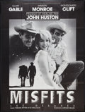 """Movie Posters:Drama, The Misfits (United Artists, R-1970s). French Grande (46"""" X 61""""). Drama.. ..."""