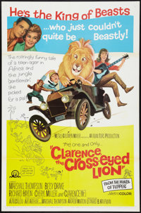 "Clarence, the Cross-eyed Lion Lot (MGM, 1965). One Sheets (2) (27"" X 41""). Comedy. ... (Total: 2 Items)"