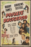 """Movie Posters:Musical, Private Buckaroo (Universal, 1942). One Sheet (27"""" X 41""""). Musical.. ..."""