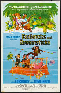 """Bedknobs and Broomsticks Lot (Buena Vista, 1971). One Sheets (2) (27"""" X 41""""). Animated. ... (Total: 2 Items)"""