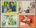 "Movie Posters:Adventure, The African Queen Lot (United Artists, 1952). Lobby Cards (4) (11""X 14""). Adventure.. ... (Total: 4 Items)"