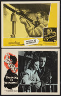 "Movie Posters:War, Passage to Marseille (Warner Brothers, 1944 and R-1956). LobbyCards (2) (11"" X 14""). War.. ... (Total: 2 Items)"